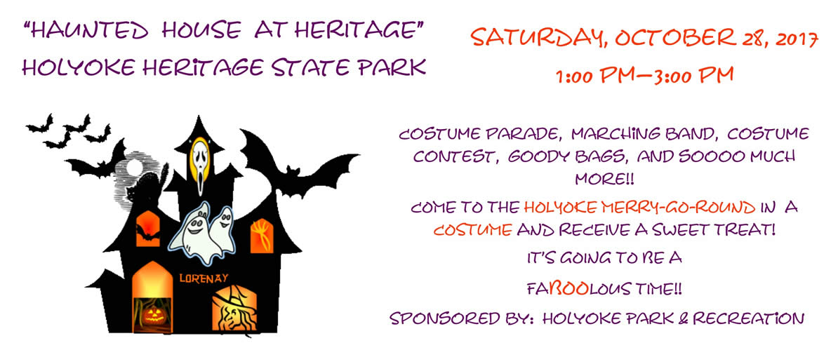 Celebrate Halloween October 28th at The Holyoke Merry-Go-Round